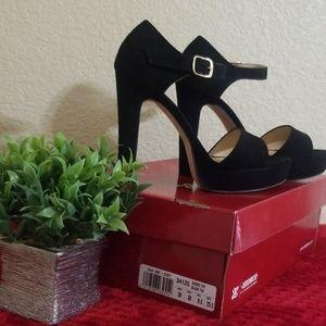 Black Andrea heels